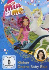 Mia and Me - Kleiner Drache Baby Blue Poster