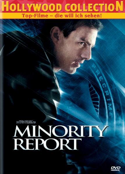 Minority Report (Einzel-DVD) Poster