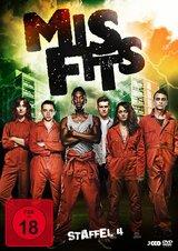 Misfits - Staffel 4 (3 Discs) Poster