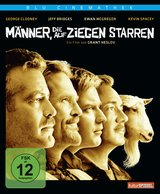 Männer, die auf Ziegen starren (Blu Cinemathek) Poster