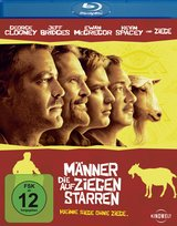 Männer, die auf Ziegen starren Poster