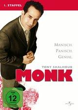 Monk - 1. Staffel (4 Discs) Poster