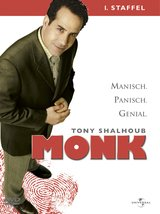 Monk - 1. Staffel (4 DVDs) Poster