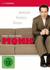 Monk - 3. Staffel (4 Discs) Poster