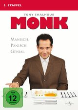 Monk - 5. Staffel (4 Discs) Poster