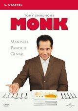Monk - 5. Staffel (4 DVDs) Poster