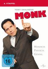 Monk - 6. Staffel (4 Discs) Poster