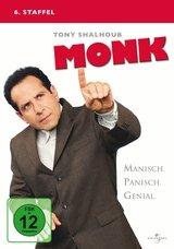 Monk - 6. Staffel (4 DVDs) Poster