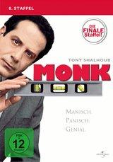 Monk - 8. Staffel: Die finale Staffel! (4 Discs) Poster
