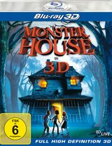 Monster House (Blu-ray 3D) Poster