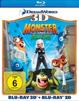 Monster und Aliens (Blu-ray 3D, + Blu-ray 2D) Poster