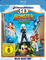 Monster und Aliens (Blu-ray 3D) Poster
