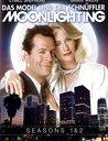 Moonlighting - Das Model und der Schnüffler, Seasons 1 & 2 (6 DVDs) Poster