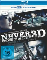 Never Cross the Line (Blu-ray 3D) Poster