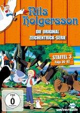 Nils Holgersson - Die Original Zeichentrick-Serie, Staffel 03, Folge 36-52 (3 DVDs) Poster