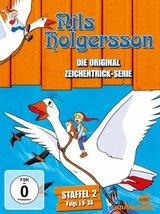 Nils Holgersson - Die Original Zeichentrick-Serie, Staffel 02, Folge 19-35 (3 DVDs) Poster