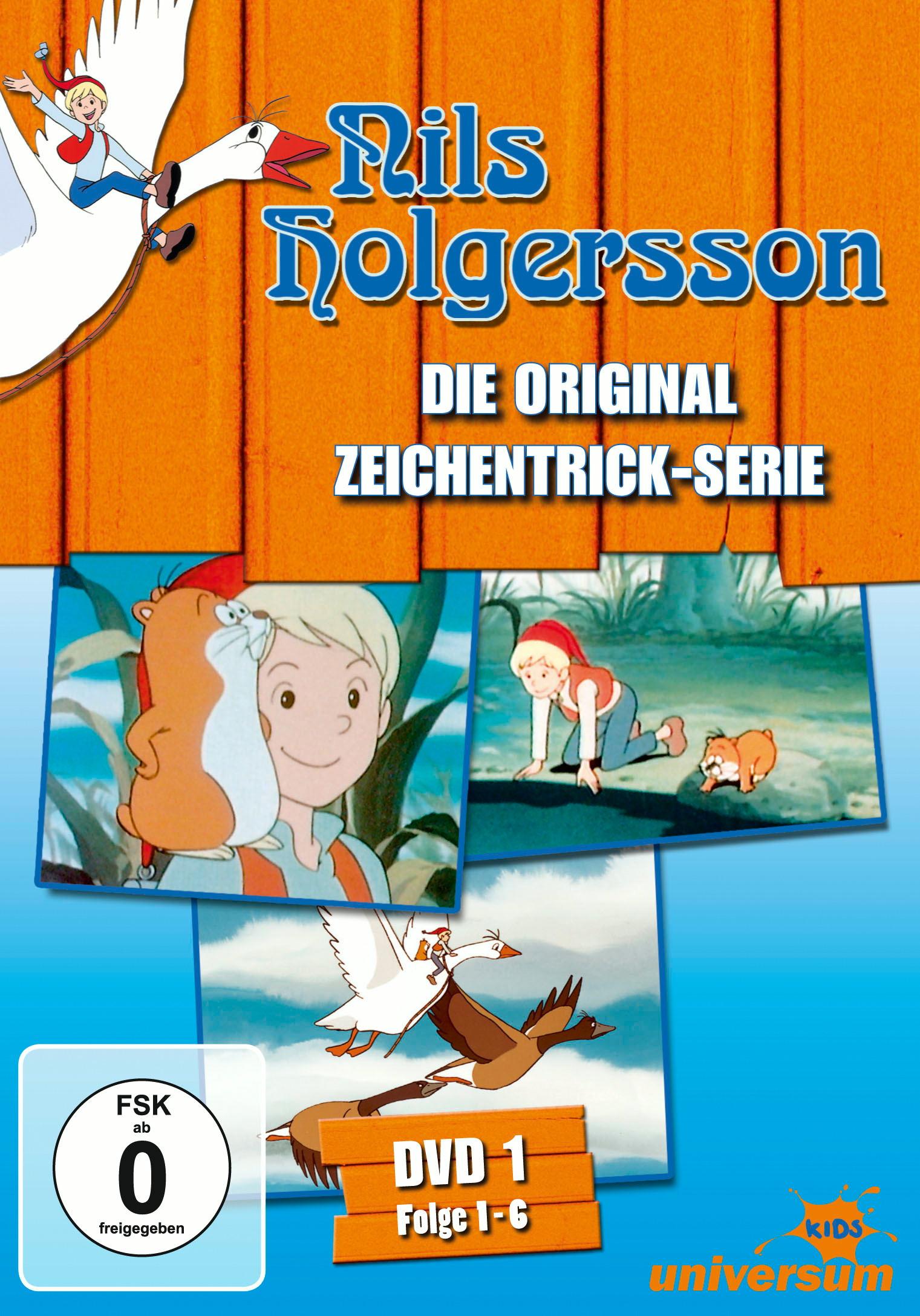 Nils Holgersson - DVD 01 (Folgen 1-6) Poster
