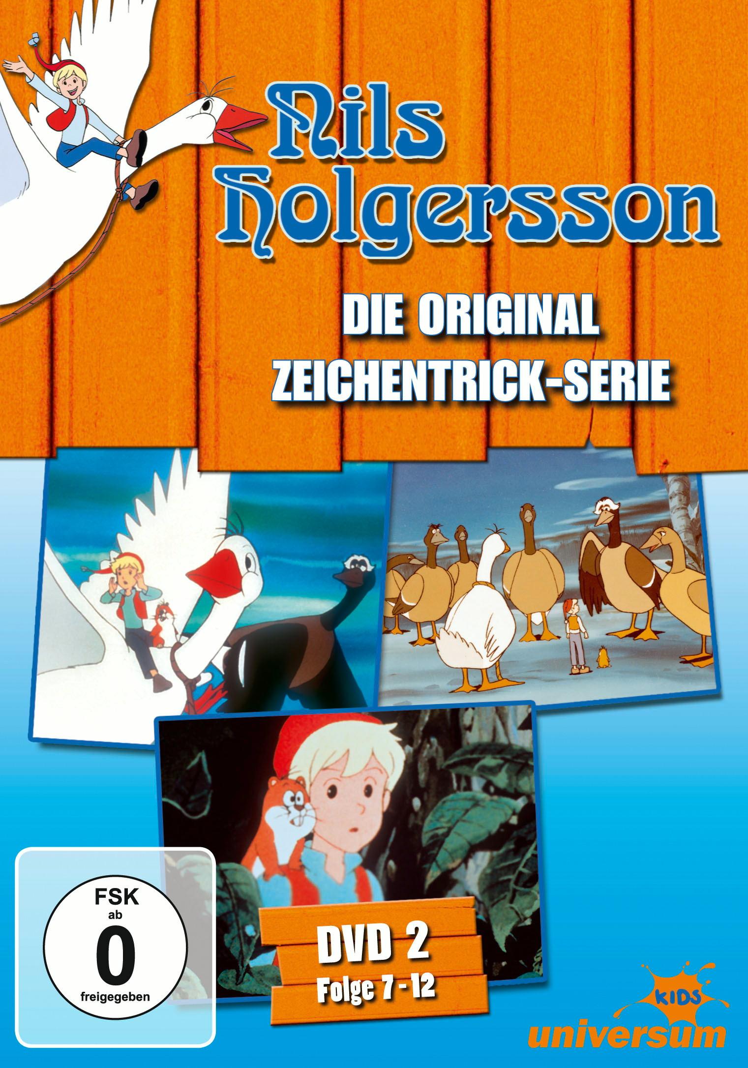 Nils Holgersson - DVD 02 (Folgen 7-12) Poster