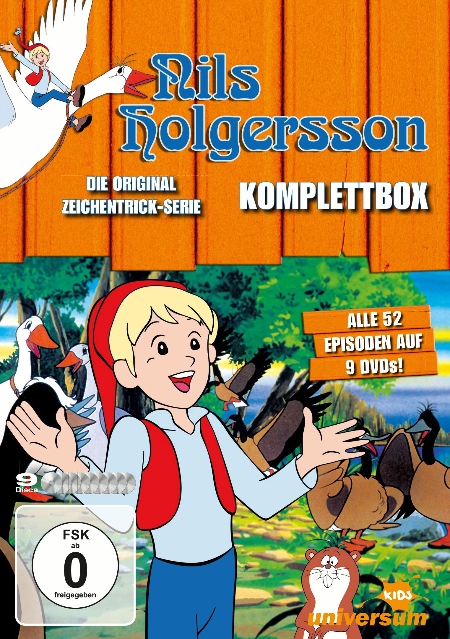 Nils Holgersson - Komplettbox (9 Discs) Poster