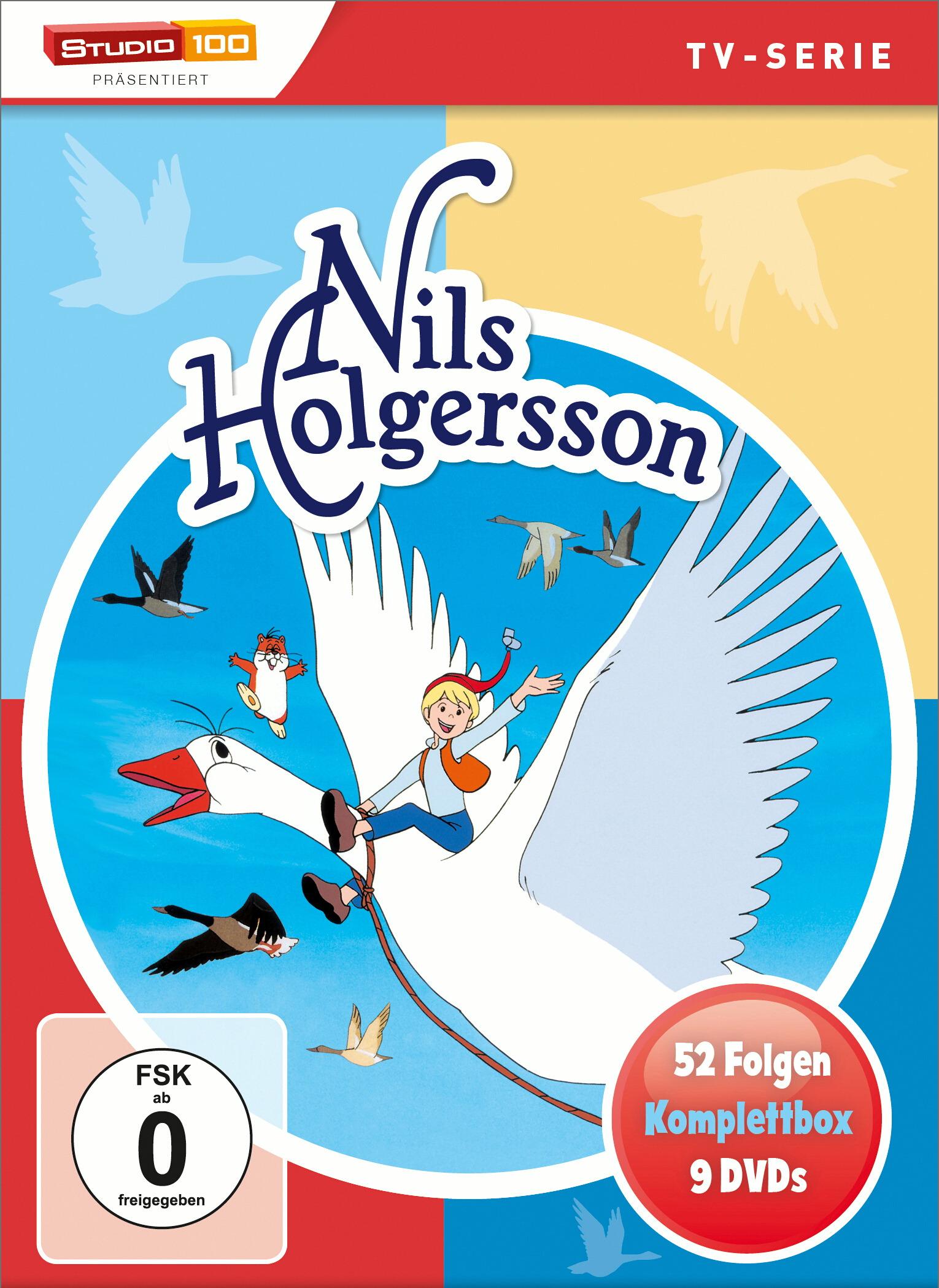 Nils Holgersson - Komplettbox Poster