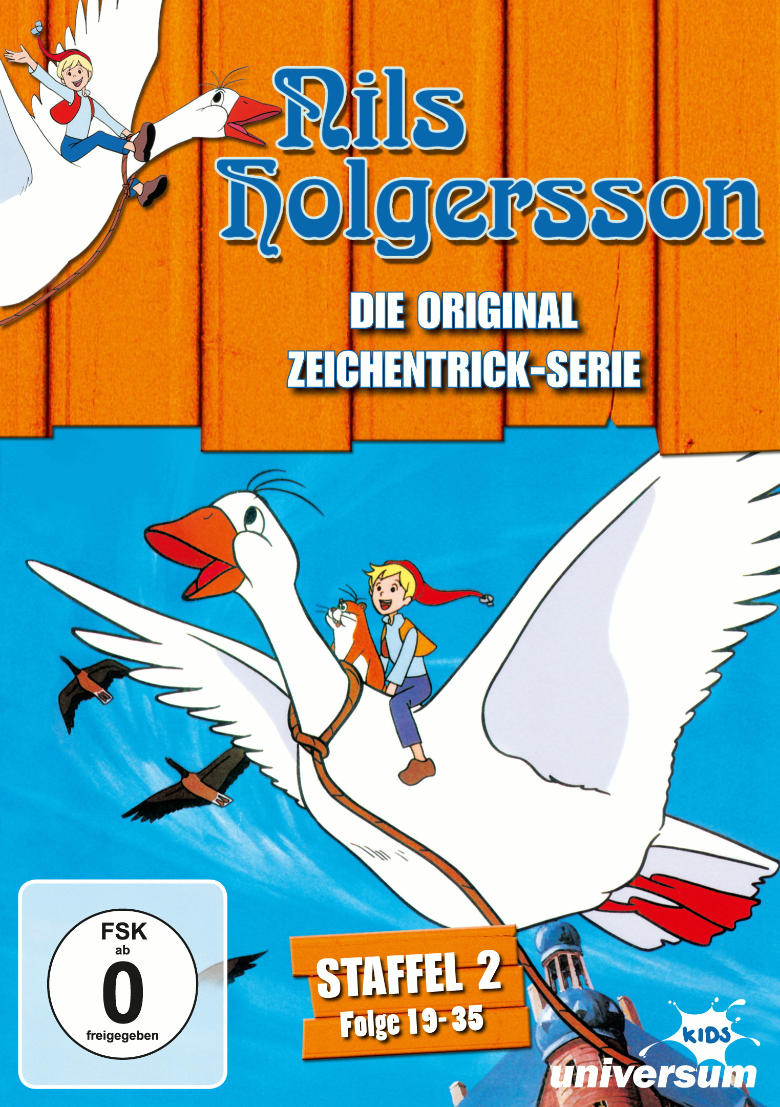 Nils Holgersson - Staffel 2 (3 Discs) Poster