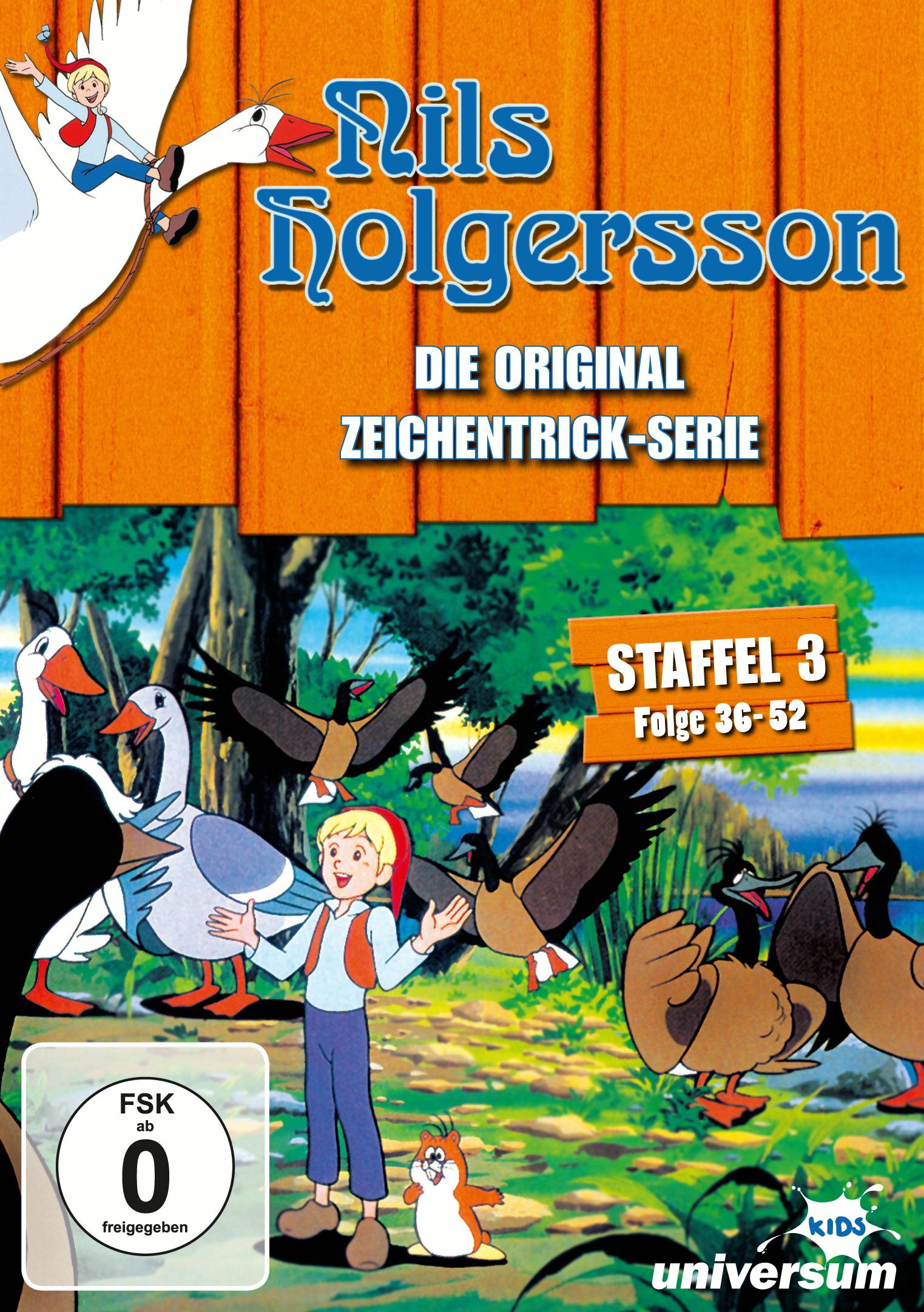 Nils Holgersson - Staffel 3 (3 Discs) Poster