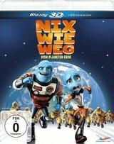 Nix wie weg - vom Planeten Erde (Blu-ray 3D) Poster