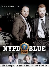 NYPD Blue - Season 01 (6 DVDs) Poster