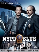 NYPD Blue - Season 02 (6 DVDs) Poster
