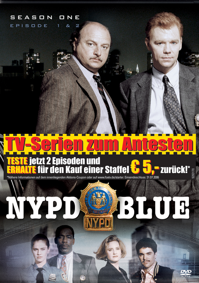 NYPD Blue - Season One, Episode 1 & 2 Poster