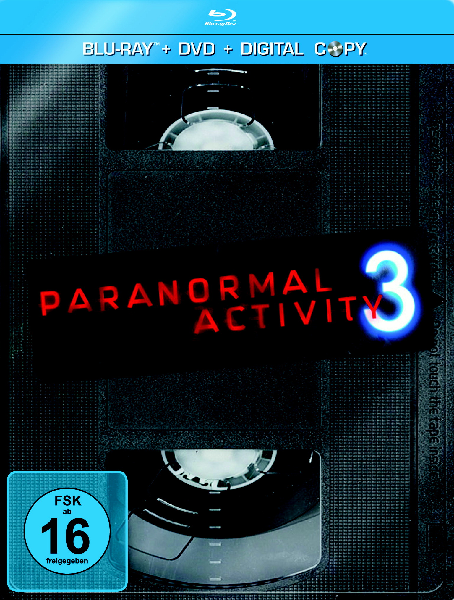 Paranormal Activity 3 (Exklusiv für Media Markt, Steelbook, + DVD, inkl. Digital Copy) Poster