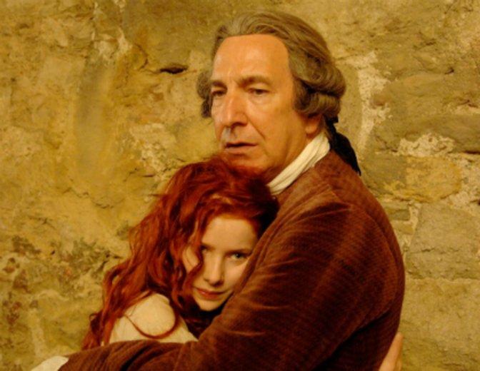 "Alan Rickman als besorgter Vater von Rachel Hurt-Wood"" in ""Das Parfüm"" © Constantin"