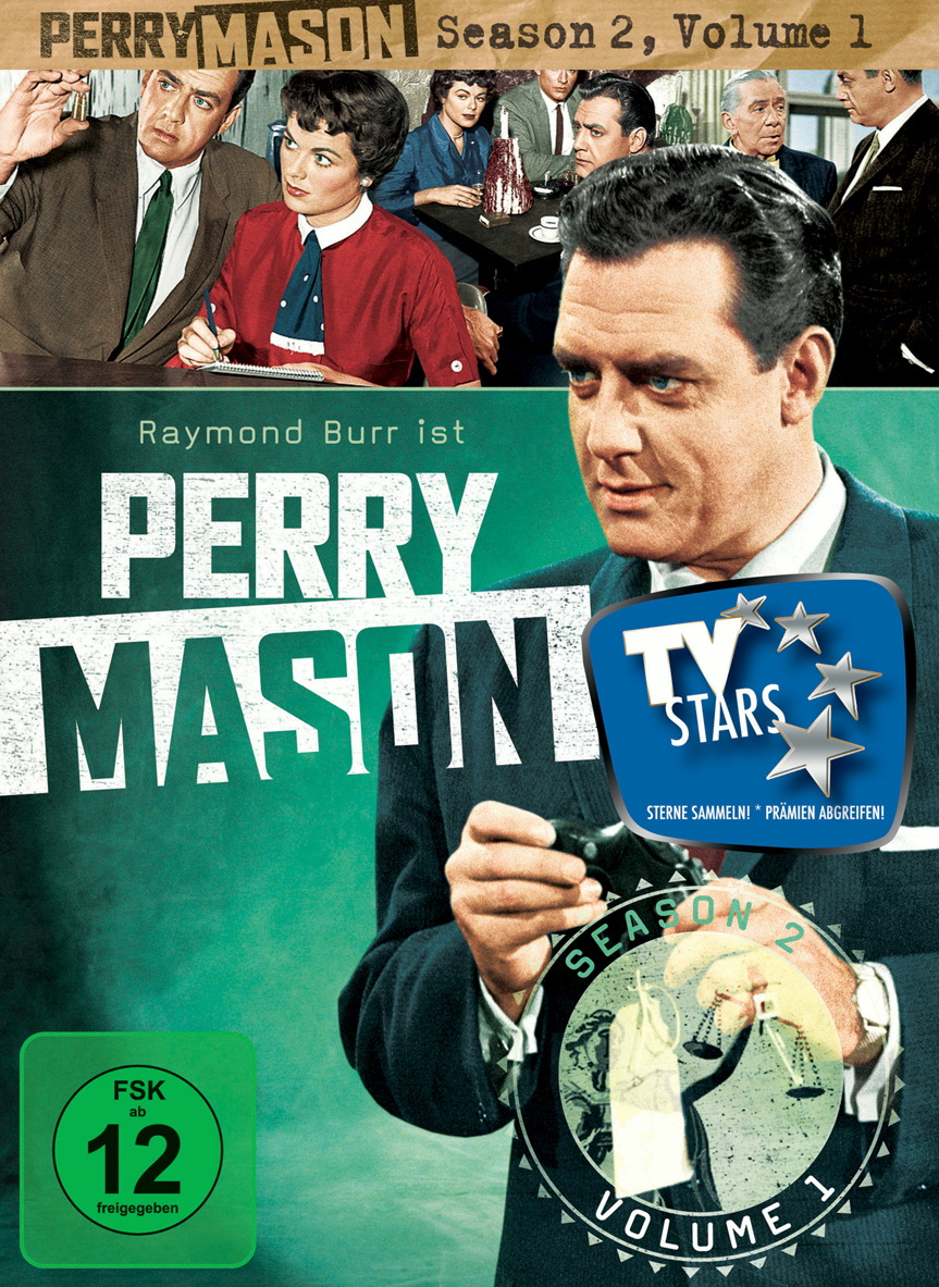 Perry Mason - Season 2, Volume 1 (4 DVDs) Poster