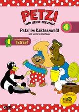 Petzi und seine Freunde 04: Petzi im Kakteenwald und weitere Abenteuer Poster