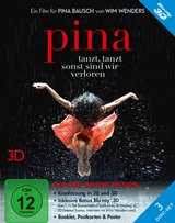 Pina (Blu-ray 3D, Deluxe Edition, 3 Discs) Poster
