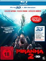 Piranha 2 (Blu-ray 3D) Poster