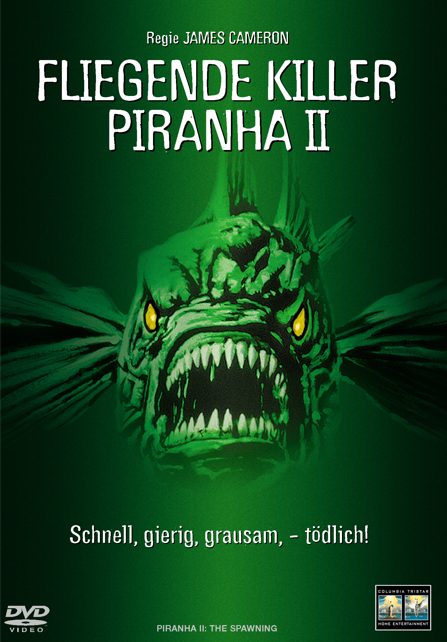 Piranha II - Fliegende Killer Poster