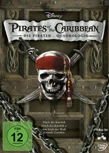 Pirates of the Caribbean - Die Piraten-Quadrologie (4 Discs) Poster