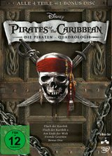 Pirates of the Caribbean - Die Piraten-Quadrologie (5 Discs) Poster