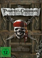 Pirates of the Caribbean - Die Piraten-Quadrologie (8 Discs) Poster