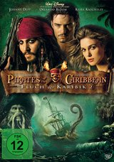 Pirates of the Caribbean - Fluch der Karibik 2 (Einzel-DVD) Poster