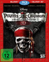 Pirates of the Caribbean - Fremde Gezeiten (Blu-ray 3D, + Blu-ray 2D) Poster