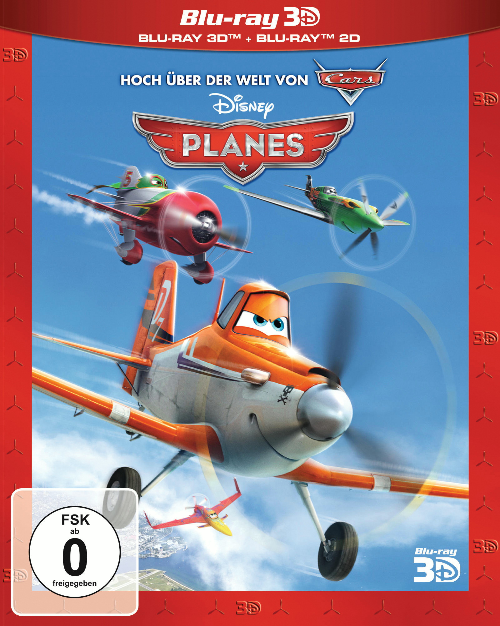 Planes (Blu-ray 3D) Poster