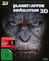 Planet der Affen: Revolution (Blu-ray 3D, 2 Discs) Poster