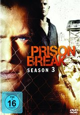 Prison Break - Die komplette Season 3 (6 DVDs) Poster