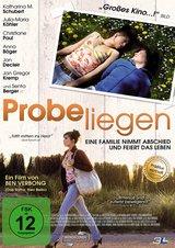 Probeliegen Poster