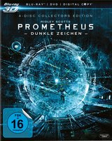 Prometheus - Dunkle Zeichen (Blu-ray 3D, + Blu-ray 2D, + DVD + Digital Copy, Collector's Edition, 4 Discs) Poster