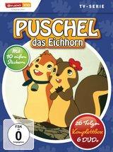 Puschel, das Eichhorn - 26 Folgen, Komplettbox (6 Discs) Poster
