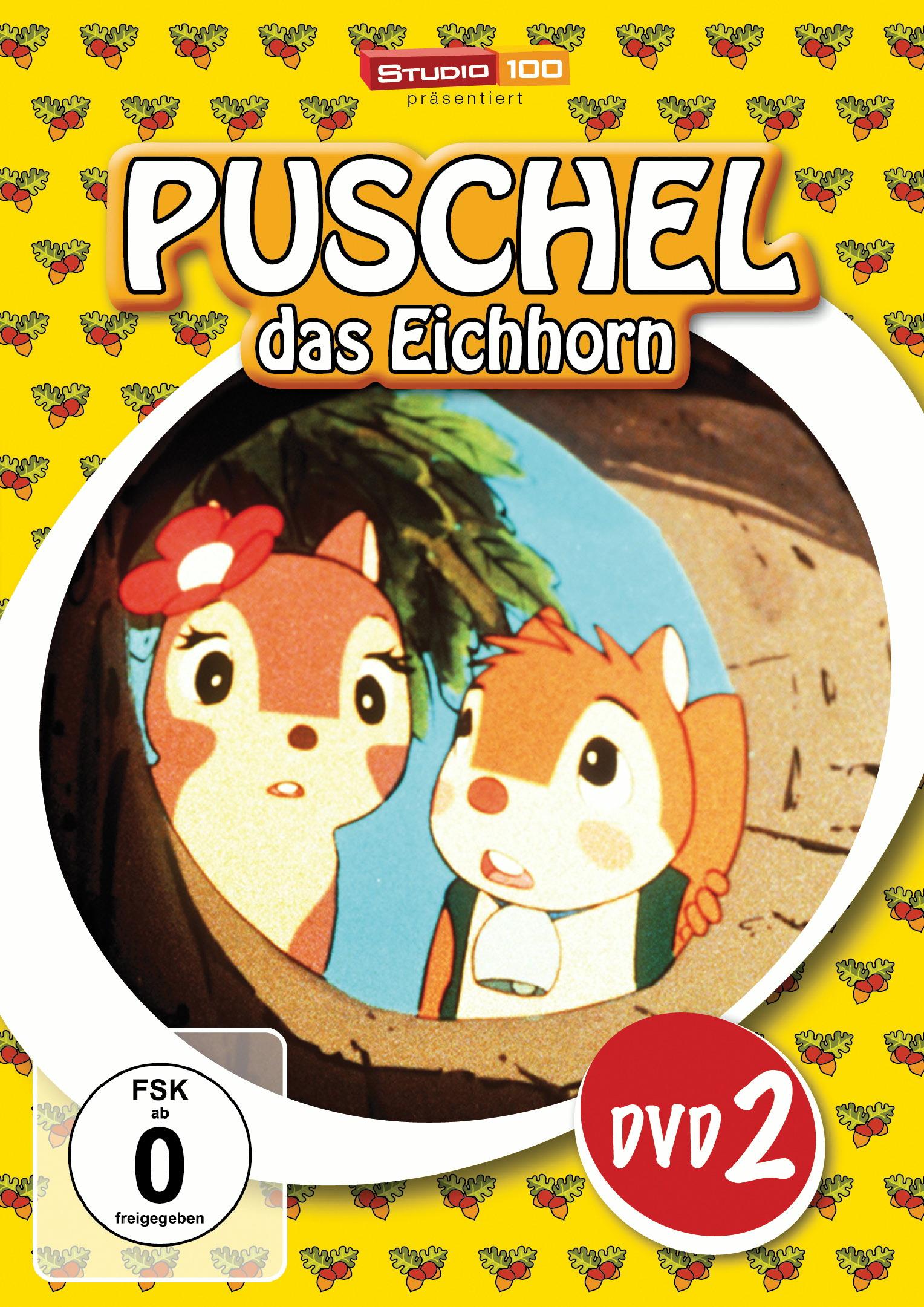 Puschel, das Eichhorn, DVD 2 Poster