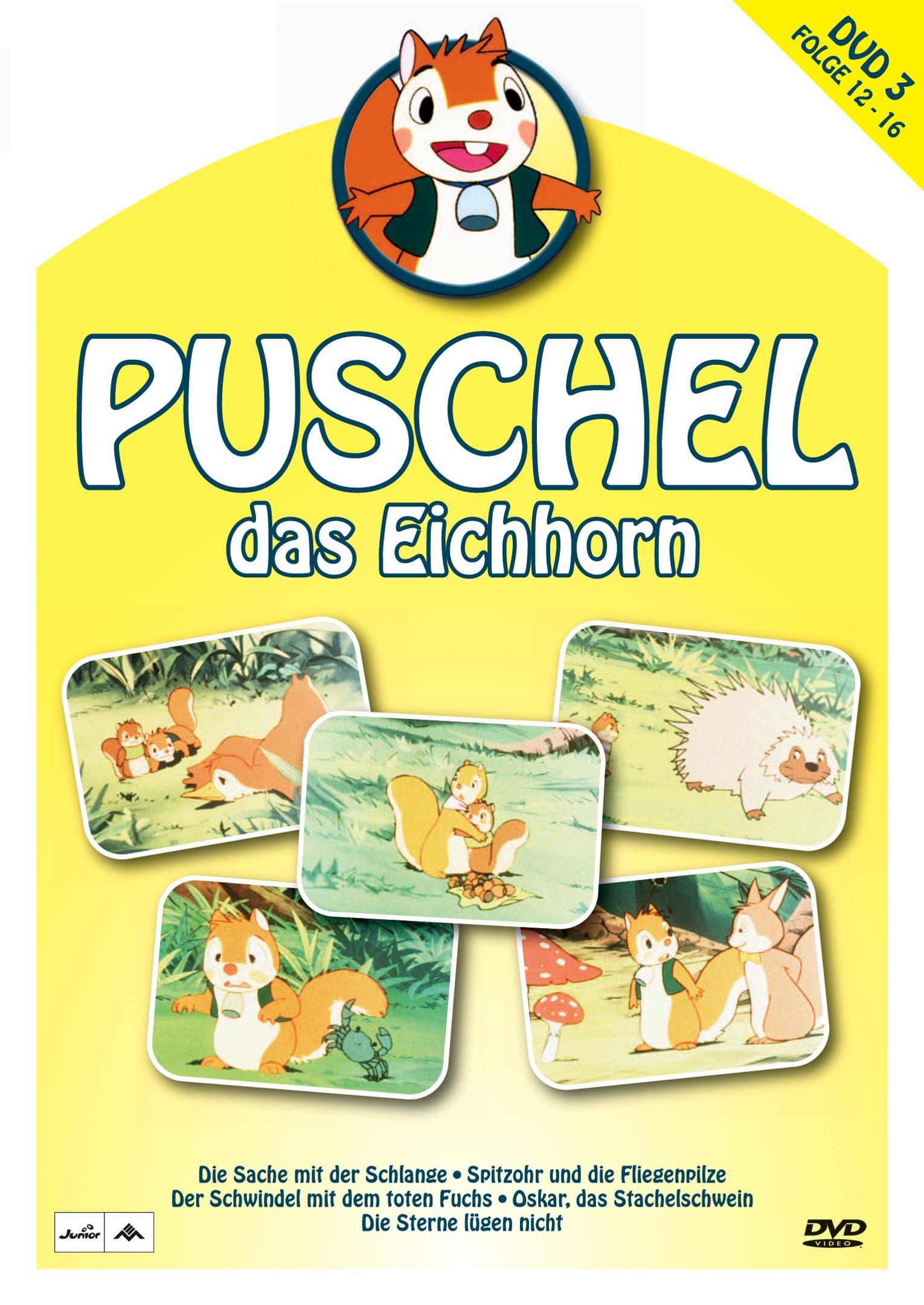 Puschel, das Eichhorn, DVD 3 Poster